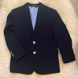 Tommy Hilfiger Navy Blue Blazer Gold Buttons